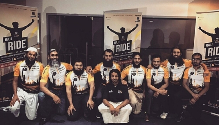 The Group of Hajj Riders 2017