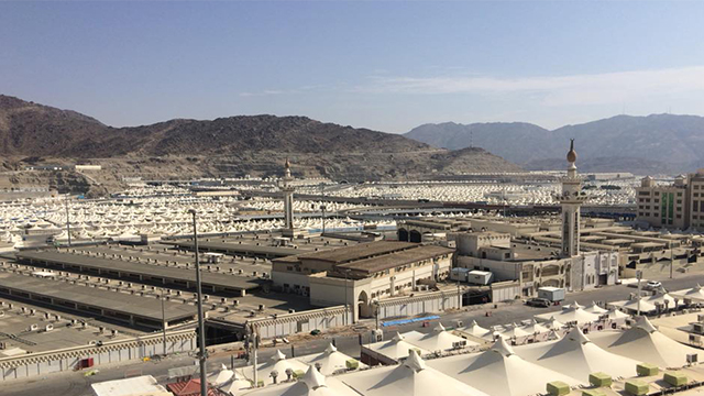 night of Arafah day in Mina